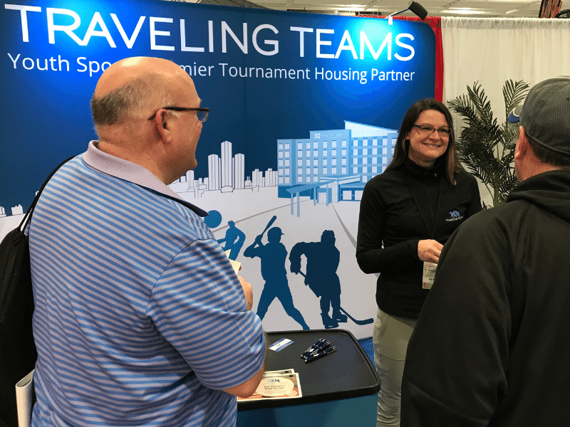 Traveling Teams Exhibitor Reed WS Website Element UTO